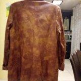 Кожаная куртка р. 48-50. Фото 2.