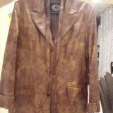 Кожаная куртка р. 48-50. Фото 3.