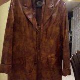 Кожаная куртка р. 48-50. Фото 4.