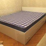 Кровать аделия с ящиками(белая). Фото 2. Москва.