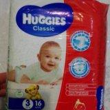 Huggies classic 3 (16шт.). Фото 1.