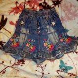 Джинсовые юбки. Фото 1.
