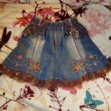Джинсовые юбки. Фото 2.