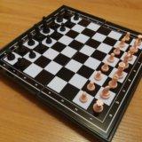 Магнитная доска 3в1 шахматы, шашки, нарды. Фото 2. Казань.