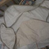 Кроватка люлька, матрац, бортики, постель. белье. Фото 2.
