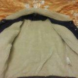 Женская джинсовка с мехом. Фото 2.
