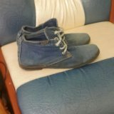 Джинсовая обувь. Фото 1.
