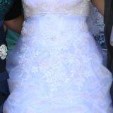 Свадебное платье, фата,туфли,перчатки. Фото 1. Уфа.