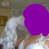 Свадебное платье, фата,туфли,перчатки. Фото 2. Уфа.