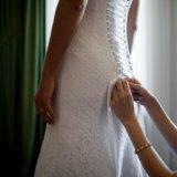 Свадебное платье в классическом стиле. Фото 3.