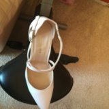 Туфли женские кожаные новые белые. Фото 2.