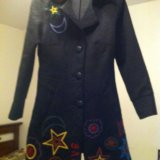 Классное пальто на подростка до 12 лет. Фото 4.