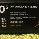 Air jordan 17 + retro. Фото 4.