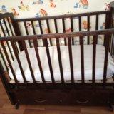 """Кроватка детская """"можга""""маятник. Фото 4."""