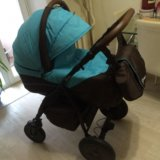Детская коляска 2 в 1 anex elana. Фото 2. Хабаровск.