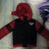 Детская зимняя куртка. Фото 1.