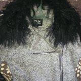 Пальто, шерсть,воротник лама,42-44р.осень -зима. Фото 1. Ачинск.