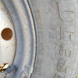 Летняя резина на дисках 195/70/ r14. Фото 3.