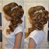 Прически свадебные, вечерние. макияж. плетение кос. Фото 3.