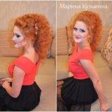 Прически свадебные, вечерние. макияж. плетение кос. Фото 4.