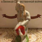 Статуэтка (девушка у березы ). Фото 2.