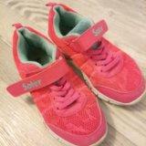 Кроссовки для девочки 29- 30 размер. Фото 1.