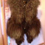 Меховая жилетка. Фото 3.