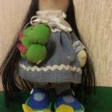 Куколка ручной работы 27 см. Фото 1. Бор.