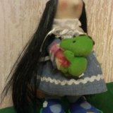 Куколка ручной работы 27 см. Фото 4. Бор.
