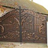 Ворота кованные. Фото 3.