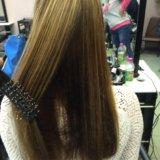 Полировка + лечение  волос. Фото 1.