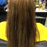 Полировка + лечение  волос. Фото 2.