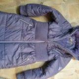 Теплое пальто 140-146 рост. Фото 1. Чита.