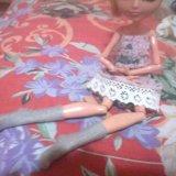 Платье и носочки для кукол. Фото 2.