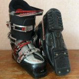Горнолыжные ботинки salomon. Фото 2.