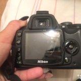 Професс-й фотоаппарат nikon d60 kit 18-55 vr б/у. Фото 2. Москва.