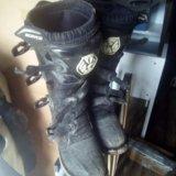Мотоботы (ботинки мотоциклетные). Фото 1. Князе-Волконское.