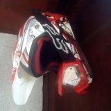 Шлем мотоциклетный (каска). Фото 1.