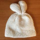 Детская шапка зайка. Фото 2.