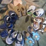 Набор первой обуви для малыша. Фото 2. Новосибирск.