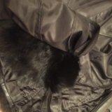 Зимняя кожаная куртка. Фото 4.