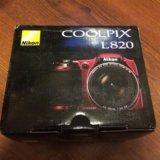 Nikon coolpix l820. Фото 1.