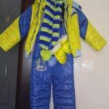 Зимний костюм на мальчика. Фото 1.