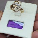 Кольцо золото 585 фианиты. Фото 3. Красноярск.