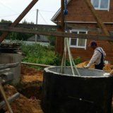 Теплые колодцы для водоснабжения. Фото 1.