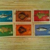 Марки болгарии рыбы. Фото 1. Владивосток.