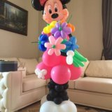 Мики маус из воздушных шаров. Фото 3. Омск.