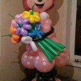 Мики маус из воздушных шаров. Фото 4.