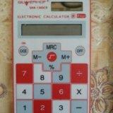 Сенсорный калькулятор + чехол. Фото 1.