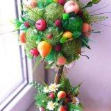 Топиарий дерево счастья. Фото 2.
